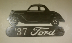 37 Ford sign
