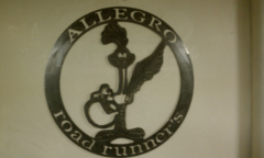 Allegro Roadrunners sign