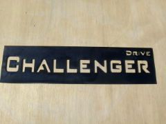 Challenger Drive Street Sign