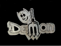 Dodge Demon sign