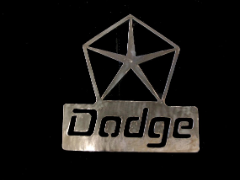 Dodge Pentastar sign