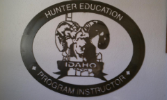 Hunter Education instructor sign