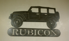 Custom Jeep Rubicon Sign