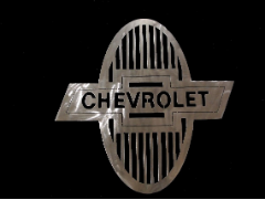 Classic Chevy sign