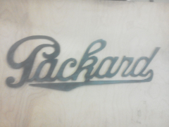 Packard sign