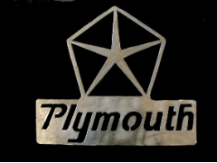 Plymouth Pentastar sign
