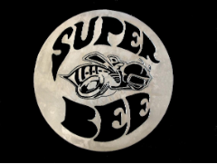 Super Bee shop art