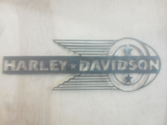 Harley Davidson 2 sign