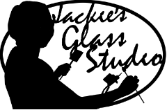 Jackies Glass Studio sign