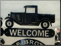 32 Ford Pickup welcome sign