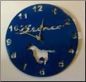 Early Bronco custom clock #1