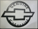 Genuine Chevrolet sign