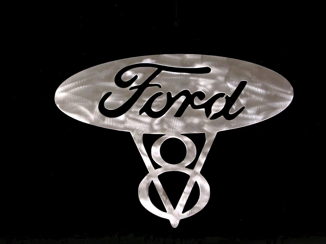 vintage ford v8 emblem   eBay